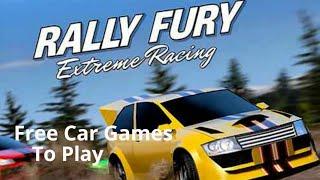 Rally Fury - Free Car Racing Games To Play