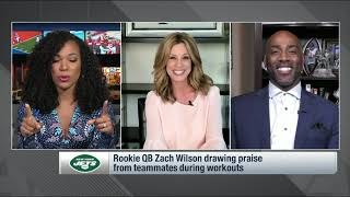 """""""There's Something About The Way This Rookie Catches A Football""""   NFL Network's Kim Jones on Moore"""