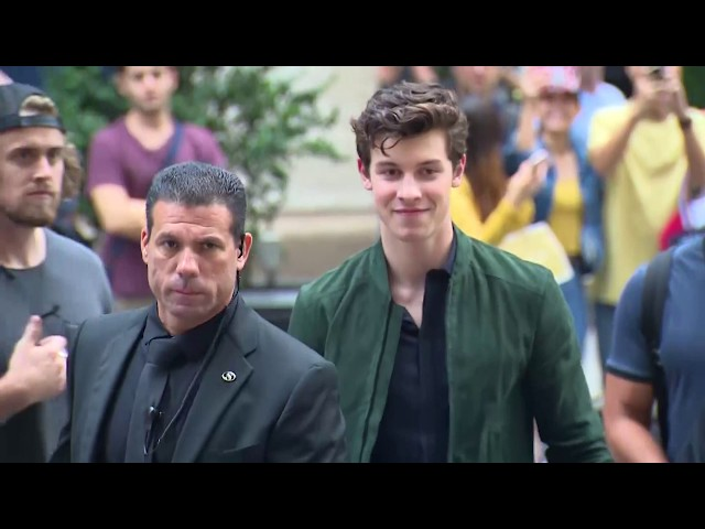 Emporio Armani Connected - New York Launch Event with Shawn Mendes