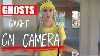 My house was haunted!! ORBS CAUGHT ON CAMERA