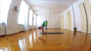 Vinyasa flow yoga - heart opening class