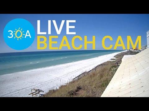 LIVE Beach Cam at The Vue on 30a in Santa Rosa Beach, Florida