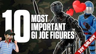 Top 10 Most Important Vintage GI Joe Figures | List Show #12