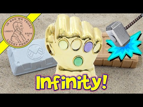 Marvel Infinity Gem DigIt The Gauntlet DigIt Display  Chip, Soak & Smash!