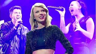 Taylor Swift Vs. Nick Jonas & Demi Lovato: Best Jingle Ball 2014 Performance?!
