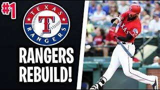 TEXAS RANGERS REBUILD! MLB THE SHOW 18 Franchise   Episode 1
