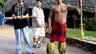 Samoan Fire Knife Dancing