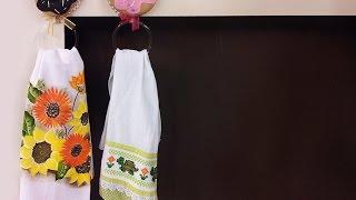 Regina Mação – Porta Pano de Copa Rosquinha em feltro