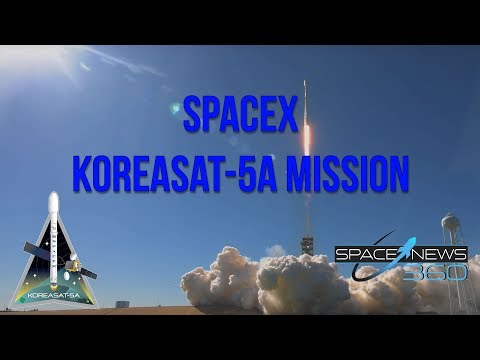 SpaceX Koreasat5-A Launch