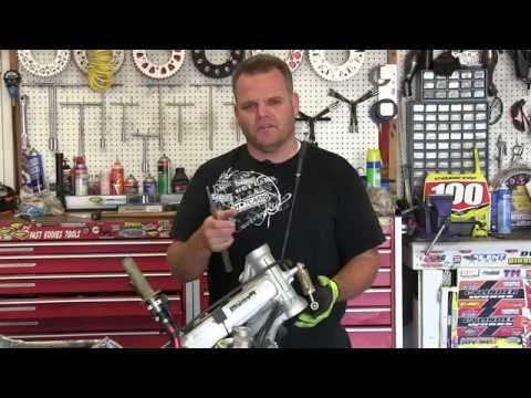 Steering Stem Races Take Out And Install Honda