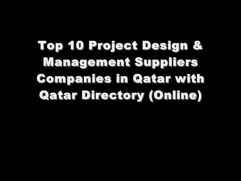 Top 10 Project Design & Management Supplies Companies in Doha, Qatar