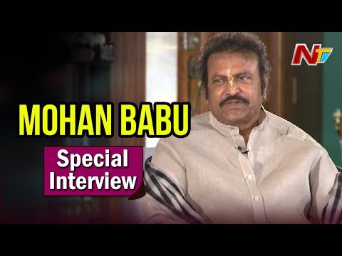 Manchu Mohan Babu Special Interview || Gayatri Movie || Manchu Vishnu || NTV