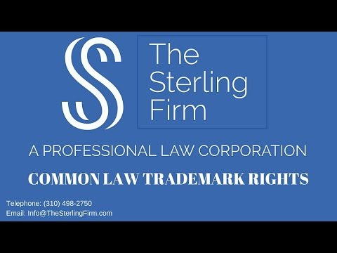 COMMON LAW TRADEMARK RIGHTS