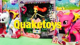 My Little Pony Princess Cadance and Princess Celestia MLP 8 inch size Pony Unboxing and Review