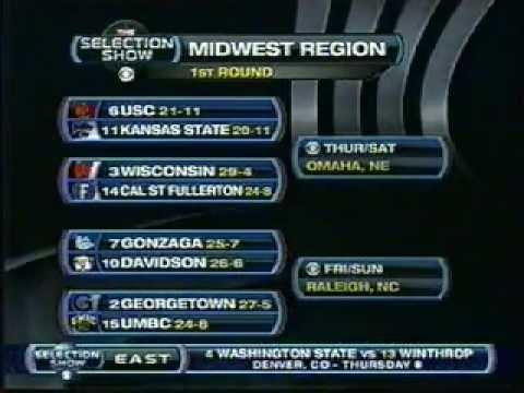 2008 NCAA Tournament - Midwest Bracket