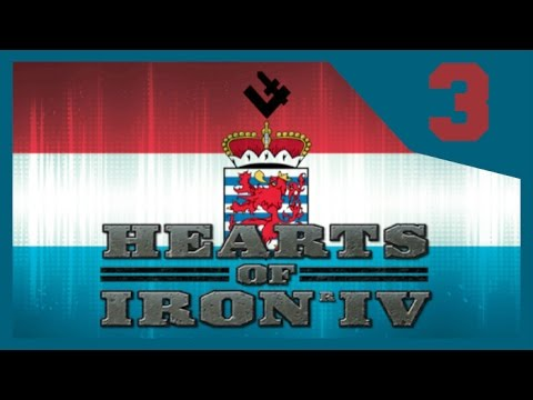 Hearts of Iron IV - Luxembourg Spec Ops #3 - Belgian Invasion! [HOI4 Gameplay]