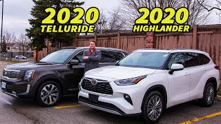 2020 Toyota Highlander Has Taken Down The Kia Telluride From The 3 Row Seater Throne, or Has it?