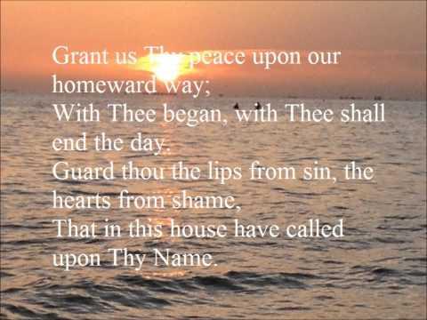 Savior, again to Thy dear Name we raise
