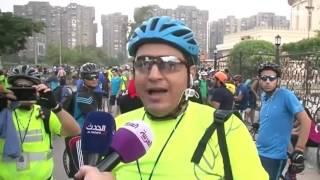 صباحات الجمعة في قاهرة المعز لا تحلو إلا بركوب الدراجة