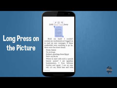 How to Enlarge Pictures on Amazon Kindle Tablet App