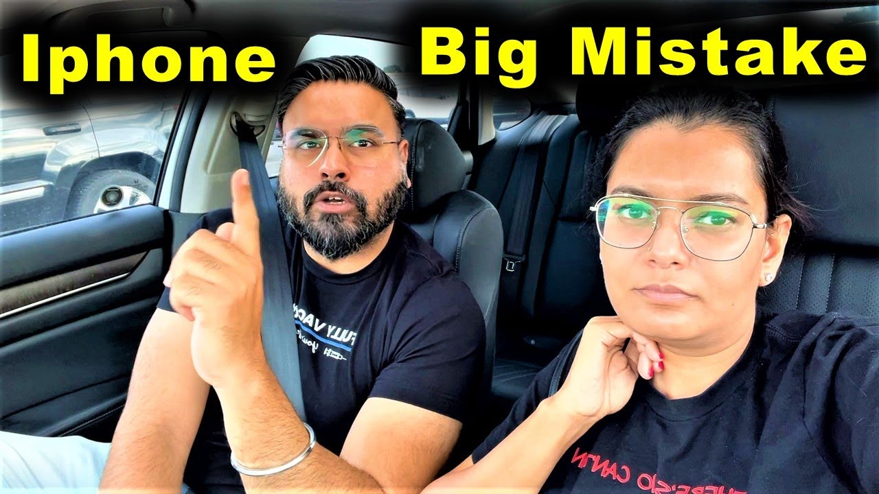 Apple Product Lo Toh Yeh Galti Mat Karna 😟   Canada To India   Canada Couple Vlogs