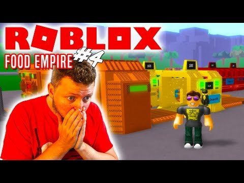 🍟OP POTATO SETUP!🍟- Roblox Food Empire Dansk Ep 4