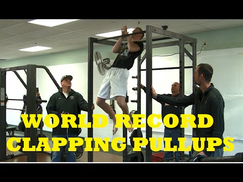 Most Clapping Pull Ups (30) - Guinness World Record *OFFICIAL*