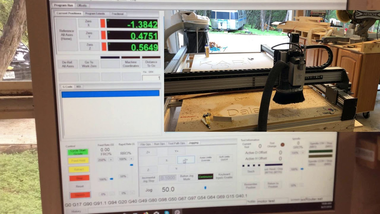 Setting up Motors in Mach 4 with Ethernet Smooth Stepper on Routakit on