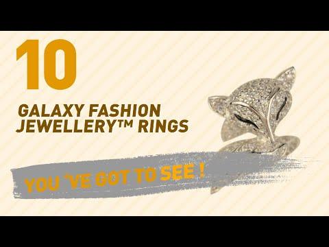 Galaxy Fashion Jewellery™ Rings Top 10 Collection // UK New & Popular 2017