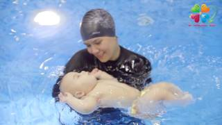 Плавание на спине для грудничков