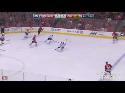 Montreal Canadiens VS Chichgo black hawks all goals and highlights  (13/11/16)