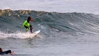 Great White Shark Photobombs 10-Year-Old Boy While Surfing