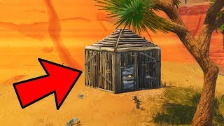 3 SECRET PLACES WITH COFRES . . . . . . . . . . . . . . . . . . . . FORTNITE: Battle Royale