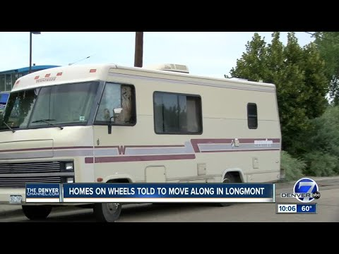 Longmont tells homeless living in RVs to 'move along'