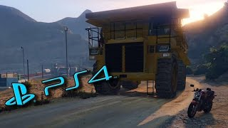 Steal The Biggest Truck GTA 5 Online PS4 1080p