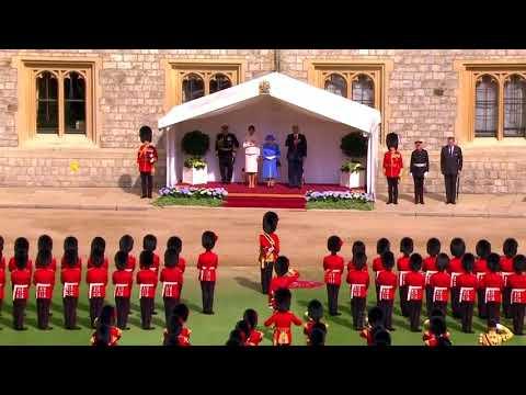 Trump meets Queen Elizabeth at Windsor Castle