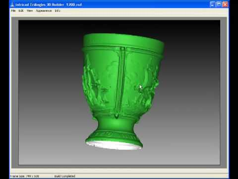 3D Scan of Small Cup using TriAngles 3D Scanner