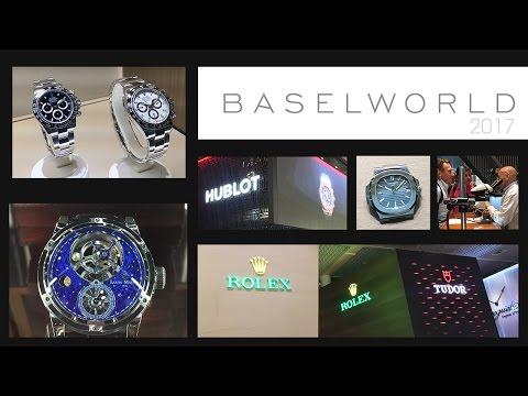 Baselworld 2017 - Watch & Jewellery Show - Rolex, Hublot, Patek Philippe, Blancpain, TAG Heuer