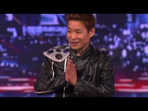 Японский танцор взорвал шоу талантов в США