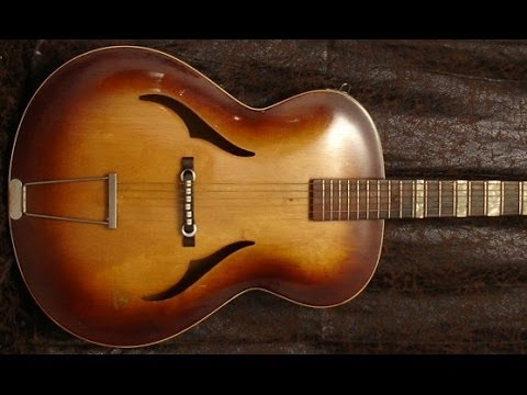 vintage guitar club framus 5 57 de 1957 youtube. Black Bedroom Furniture Sets. Home Design Ideas