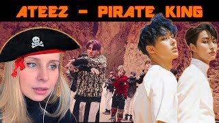 РЕАКЦИЯ НА КЛИП ATEEZ - PIRATE KING | K-POP