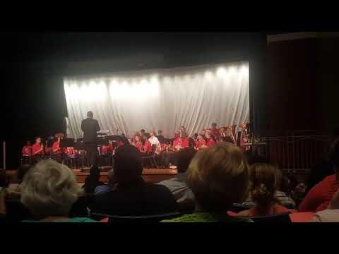 Crayton Middle School Band May 2018