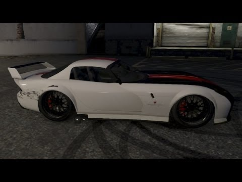 Gta V Online How To Make The Banshee Extremely Low Drift Car