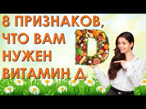 8 признаков, что вам нужен витамин Д. Симптомы нехватки витамина D