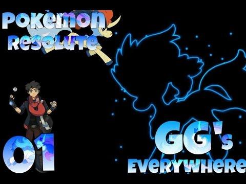 Pokemon Resolute PT-1