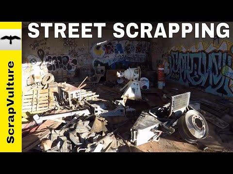 STREET SCRAPPER - Dumpster Diver - Metal Scrapping - Dumpster Diving - Make Money