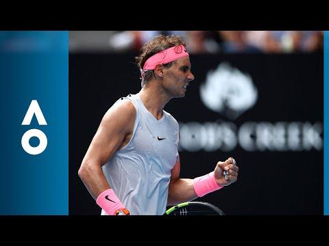 Rafael Nadal v Diego Schwartzman match highlights (4R) | Australian Open 2018
