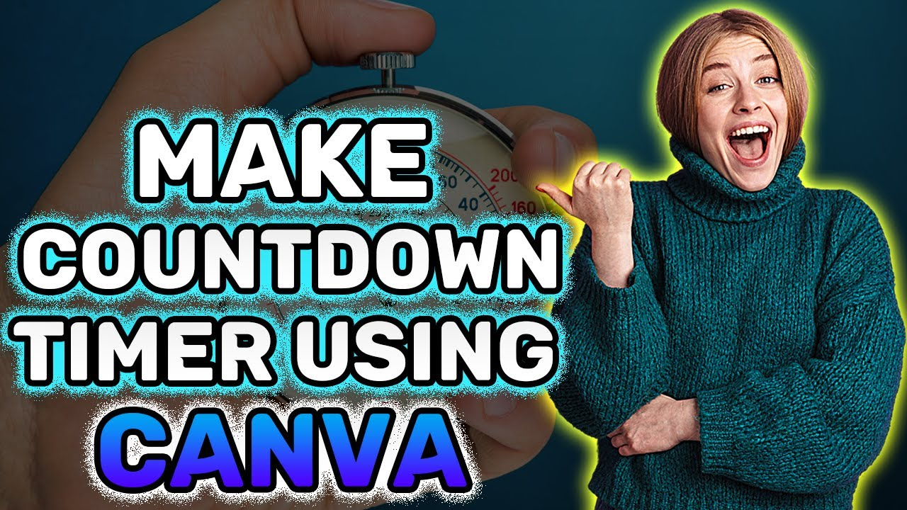 Download How to Make Countdown Timer for Streamyard using Canva