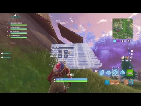 Fortnite being dry