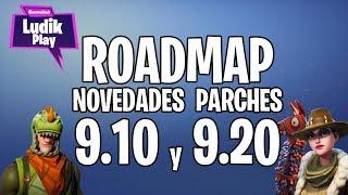 FORTNITE ROADMAP SALVAR EL MUNDO: PARCHES 9.10/9.20, INDIANA JESS, NUEVO SET DE HÉROES, NUEVA TRAMPA
